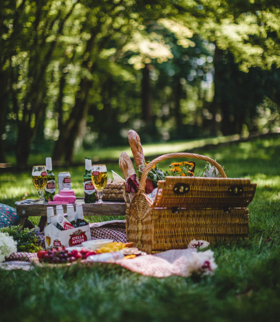 Savoring Everyday Moments with Stella Artois, Joie de Biere, Outdoor Picnic, Summer picnic, Stella Artois // Notjessfashion.com