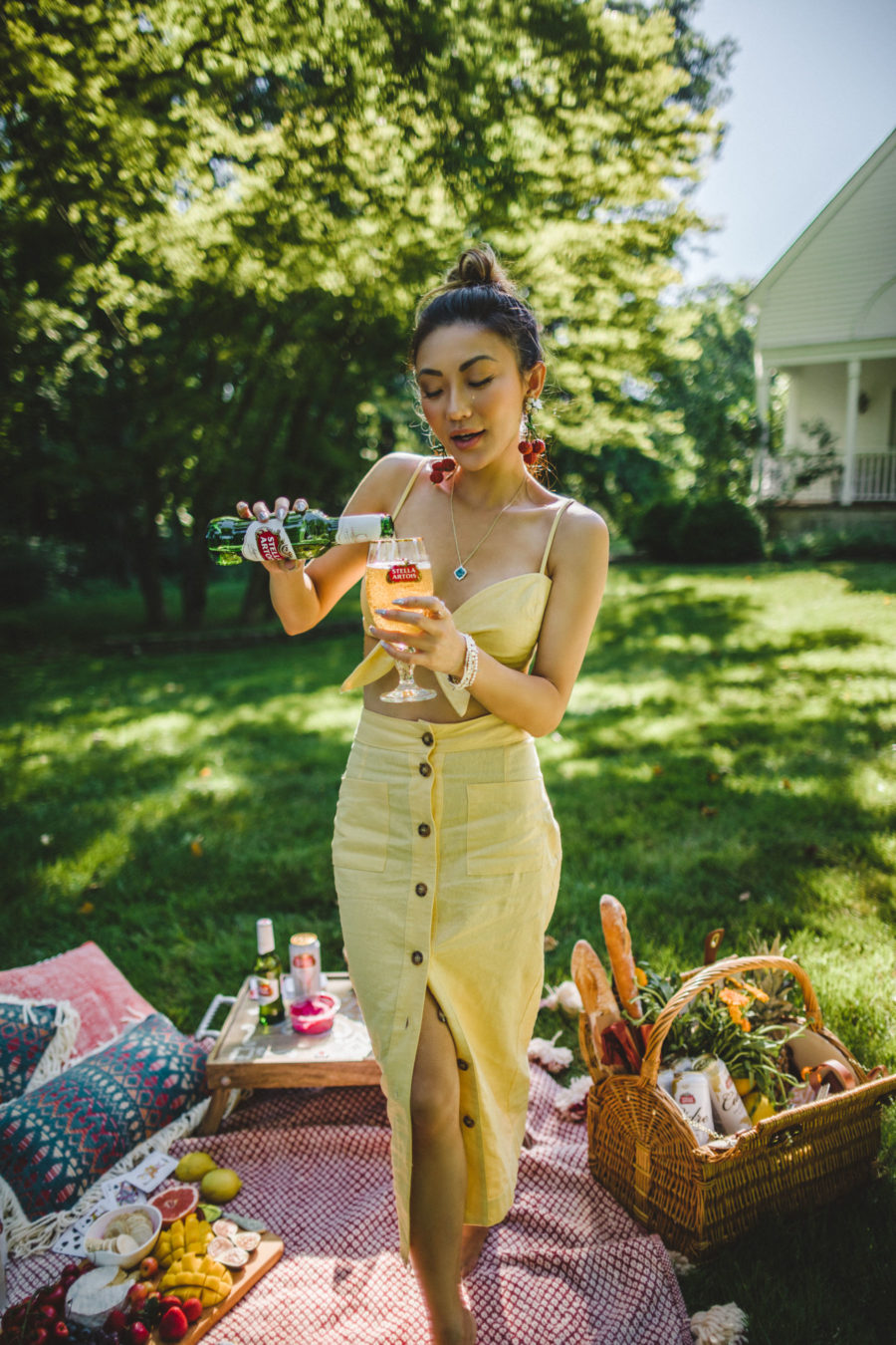 Savoring Everyday Moments with Stella Artois, Joie de Biere, Outdoor Picnic, Summer picnic, Stella Artois // Notjessfashion.com