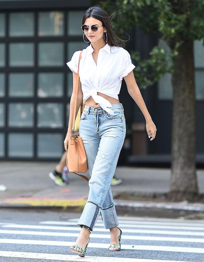 Classic Denim Styles With a Twist - Wide Cuff Jeans // Notjessfashion.com