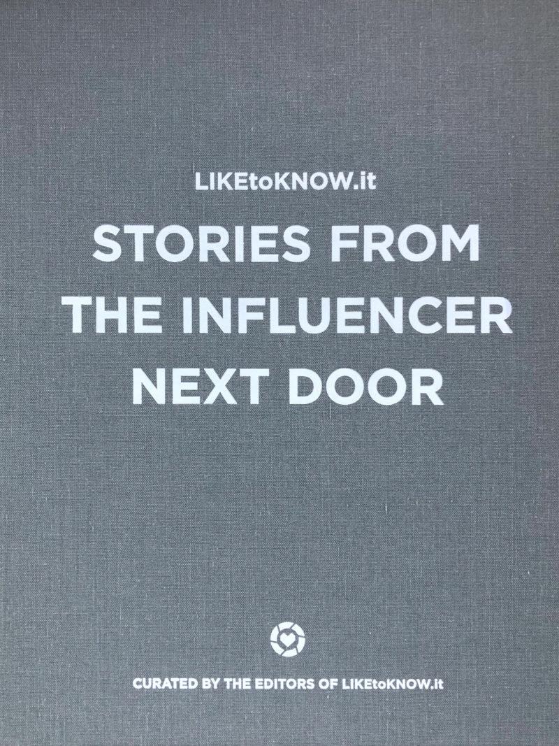 Liketoknow.it Book