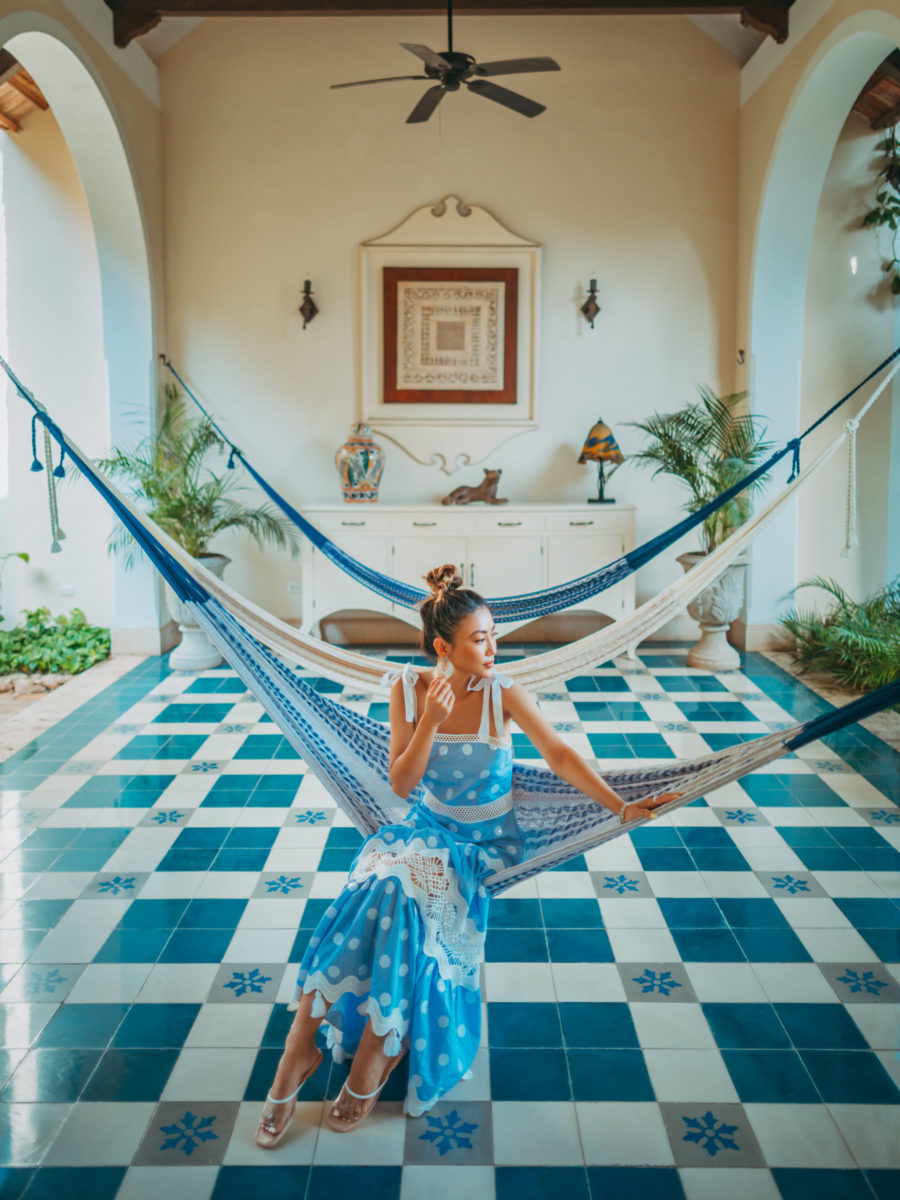 Vacationing in Tulum and Merida Mexico, travel style, tropical style, tiered alexis dress // Notjessfashion.com