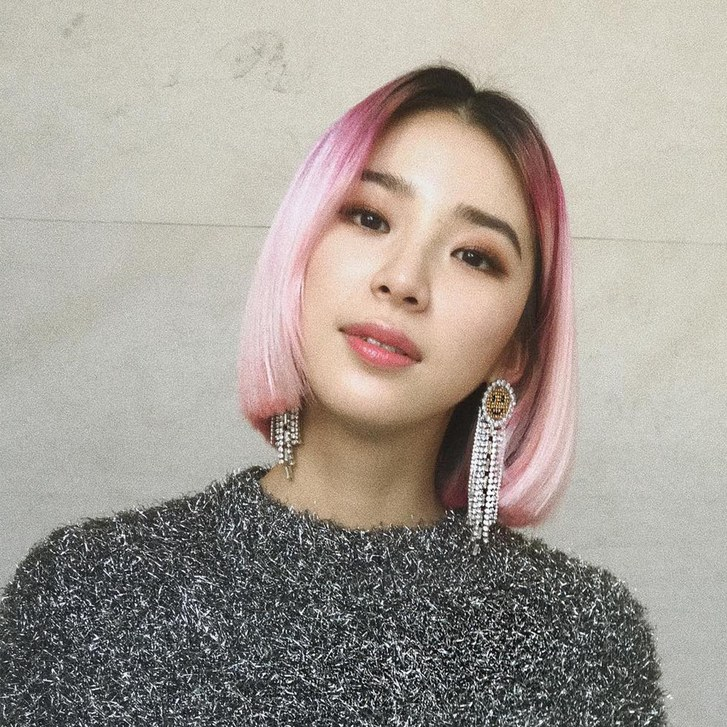 Rose Gold Hair Color Trend - Irene Kim // Notjessfashion.com