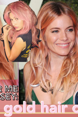 THE ROSE GOLD HAIR COLOR TREND I'M COVETING