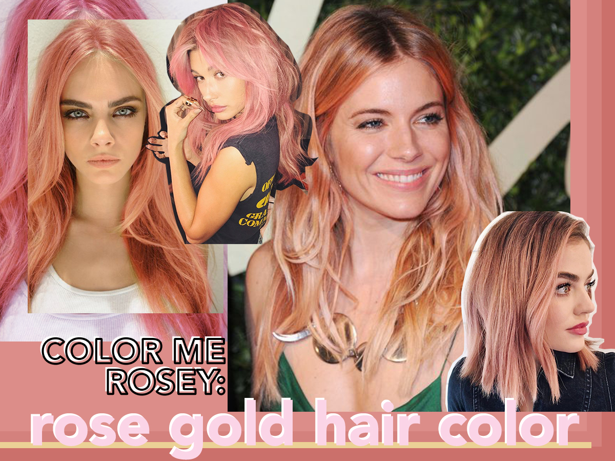 The Rose Gold Hair Color Trend Im Coveting Notjessfashion