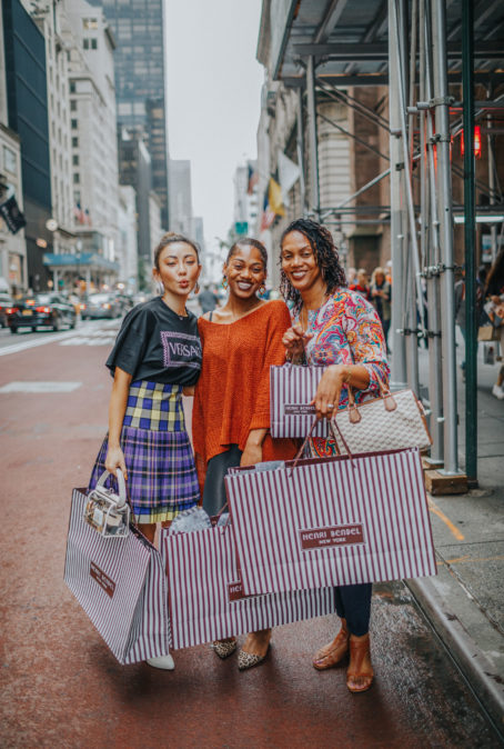 A SHOPPING SPREE IN NYC WITH SHOPRUNNER