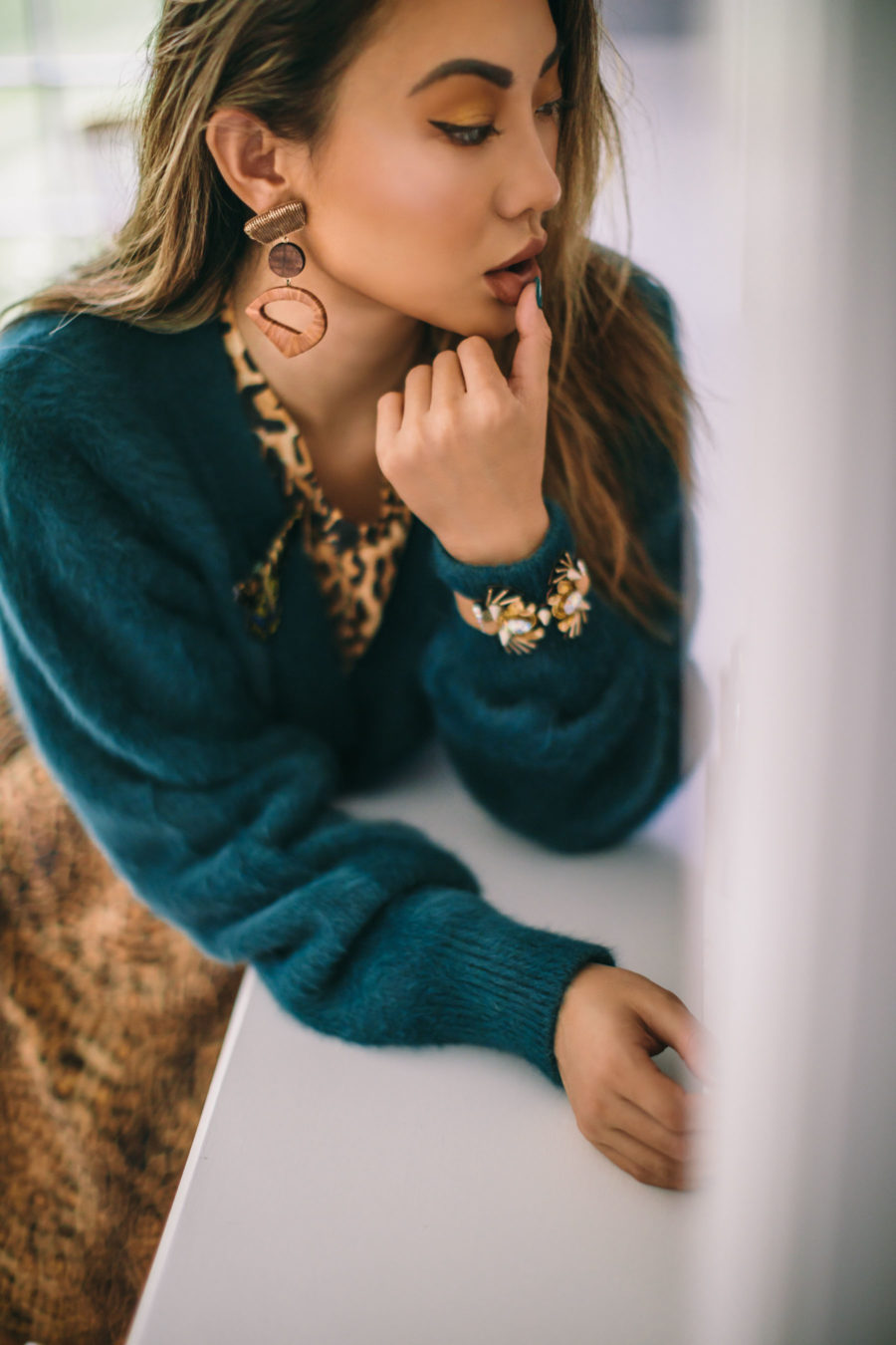 Statement Jewelry for Your Holiday Looks - Mignonne Gavigan jewelry // Notjessfashion.com