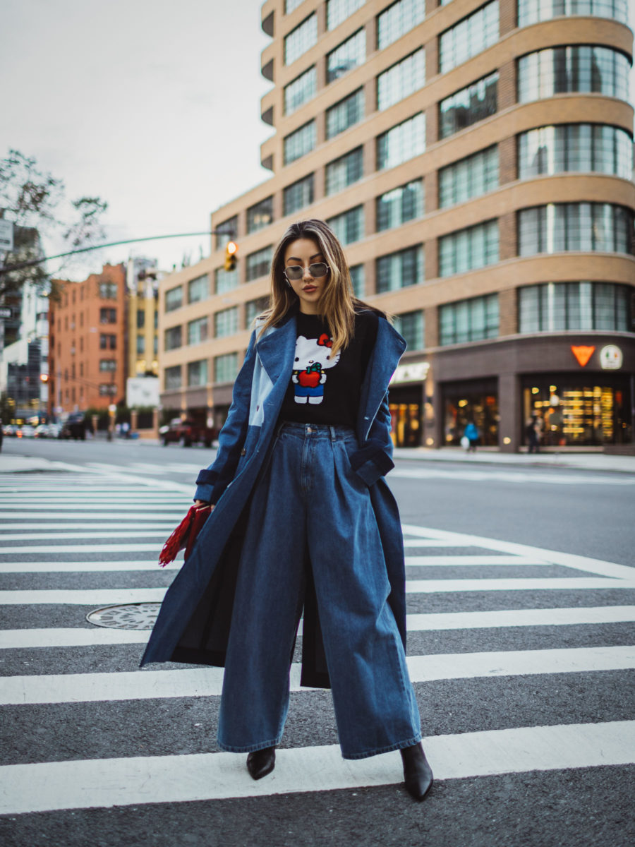 New jacket styles for fall 2018, Layers for fall, fall denim trends // Notjessfashion.com