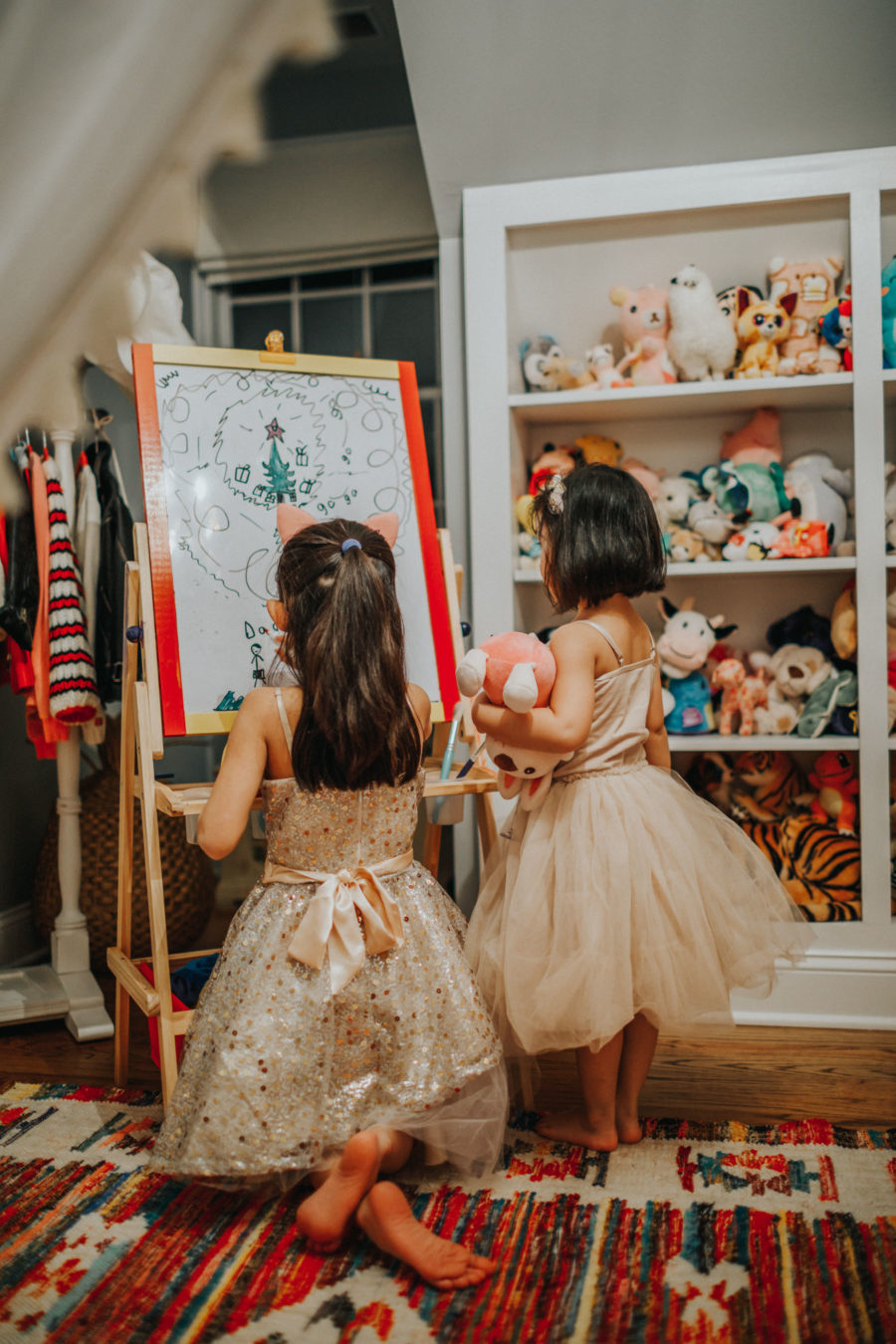 Giving back for the holidays, Nordstrom x Children's Miracle Network, Kids Holiday dresses, christmas tree drawing // Notjessfashion.com