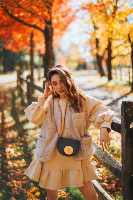 cozy chic items, fleece jacket // Notjessfashion.com