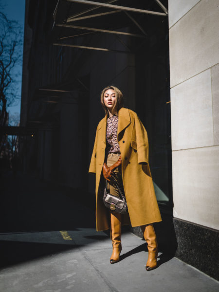 fall staples, metal cap toe boots, fall outfit inspiration, tan monochrome outfit // Notjessfashion.com