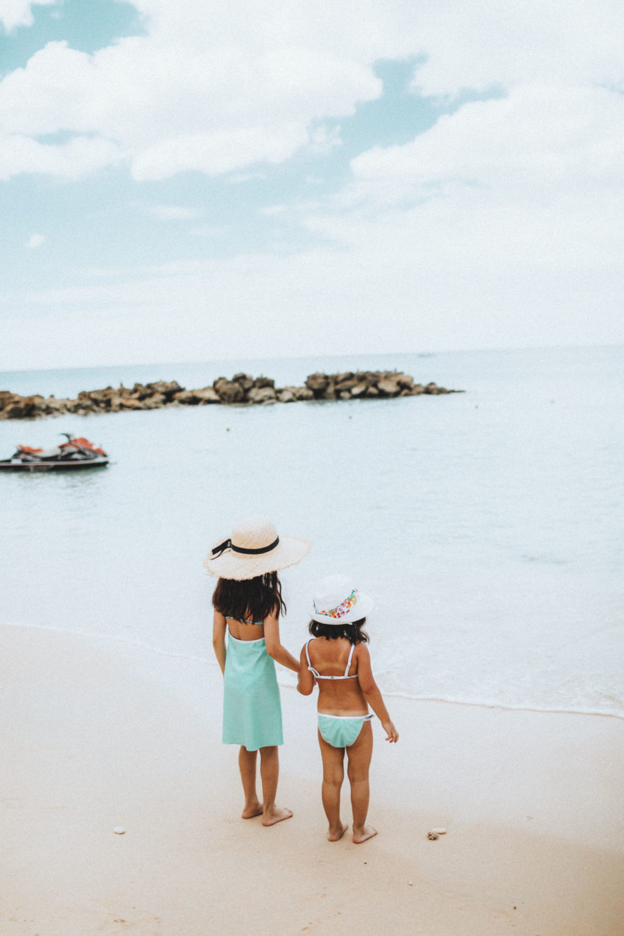 Cute Vacation Outfits for Little Girls, Melijoe kids fashion, fashion blogger family, fashion blogger kids, kids beach style, melijoe kids style, cute swimsuits for kids // Notjessfashion.com