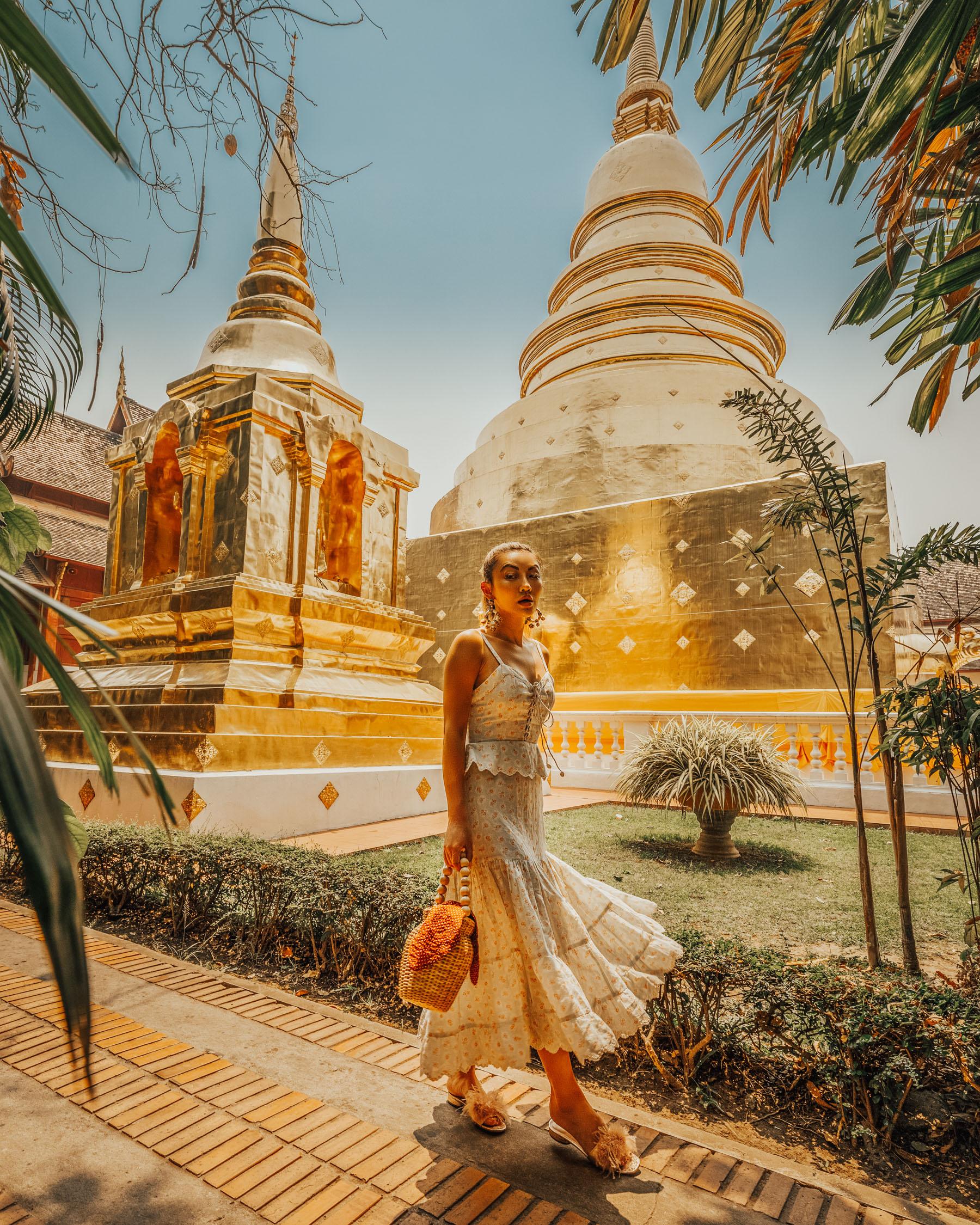 summer vacation essentials, linen dress, chiang mai thailand // Notjessfashion.com
