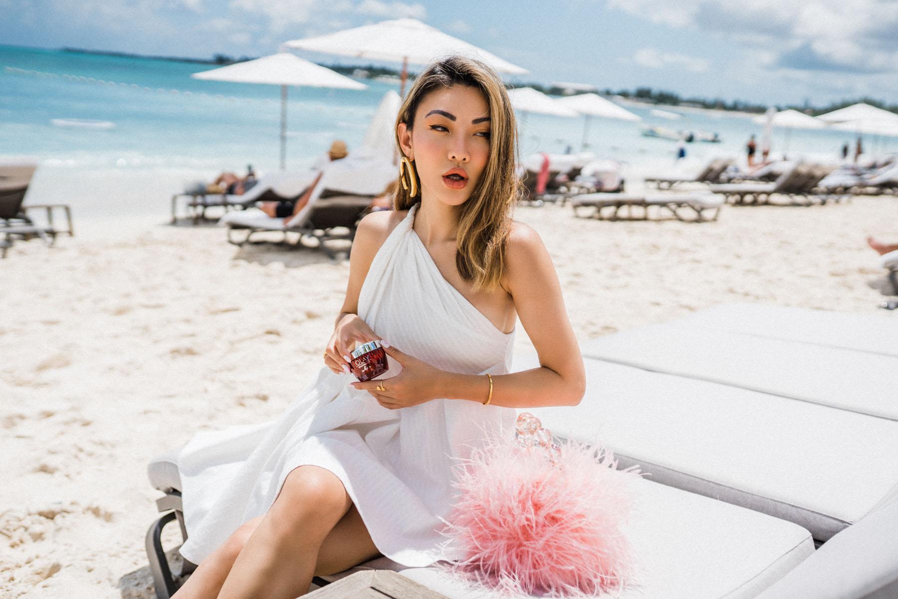 Olay regenerist, essential moisturizers for fresh summer skin, beach // Notjessfashion.com