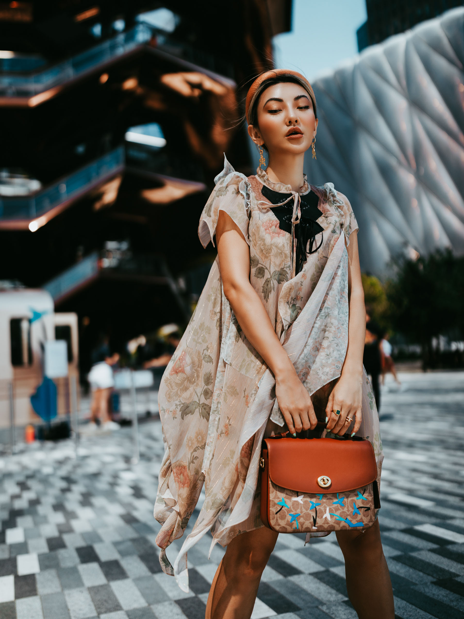 biggest fall fashion trends 2019, chiffon fashion trends, romantic style // Notjessfashion.com