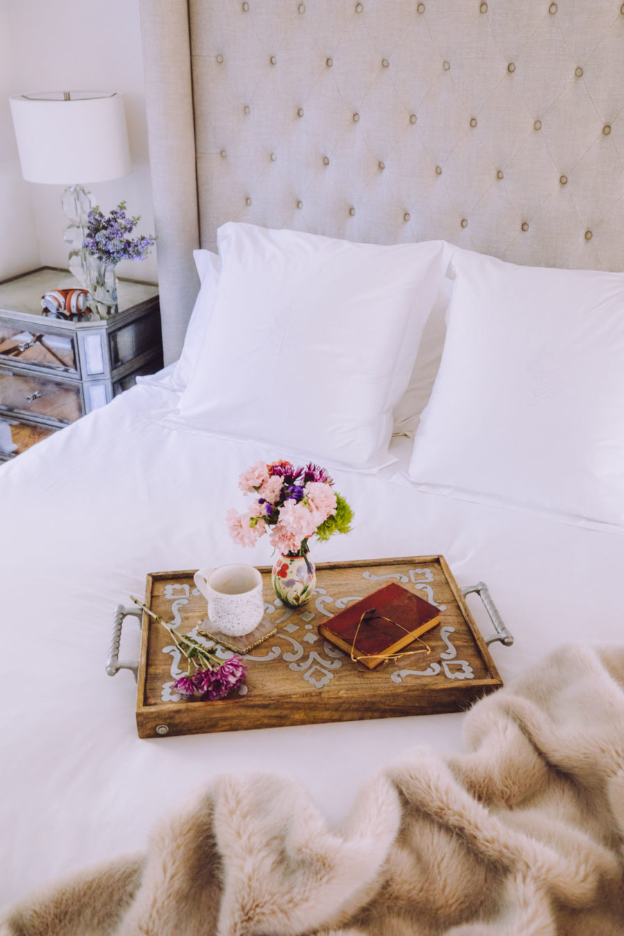 four seasons at home bedding review by blogger jessica wang // Notjessfashion.com