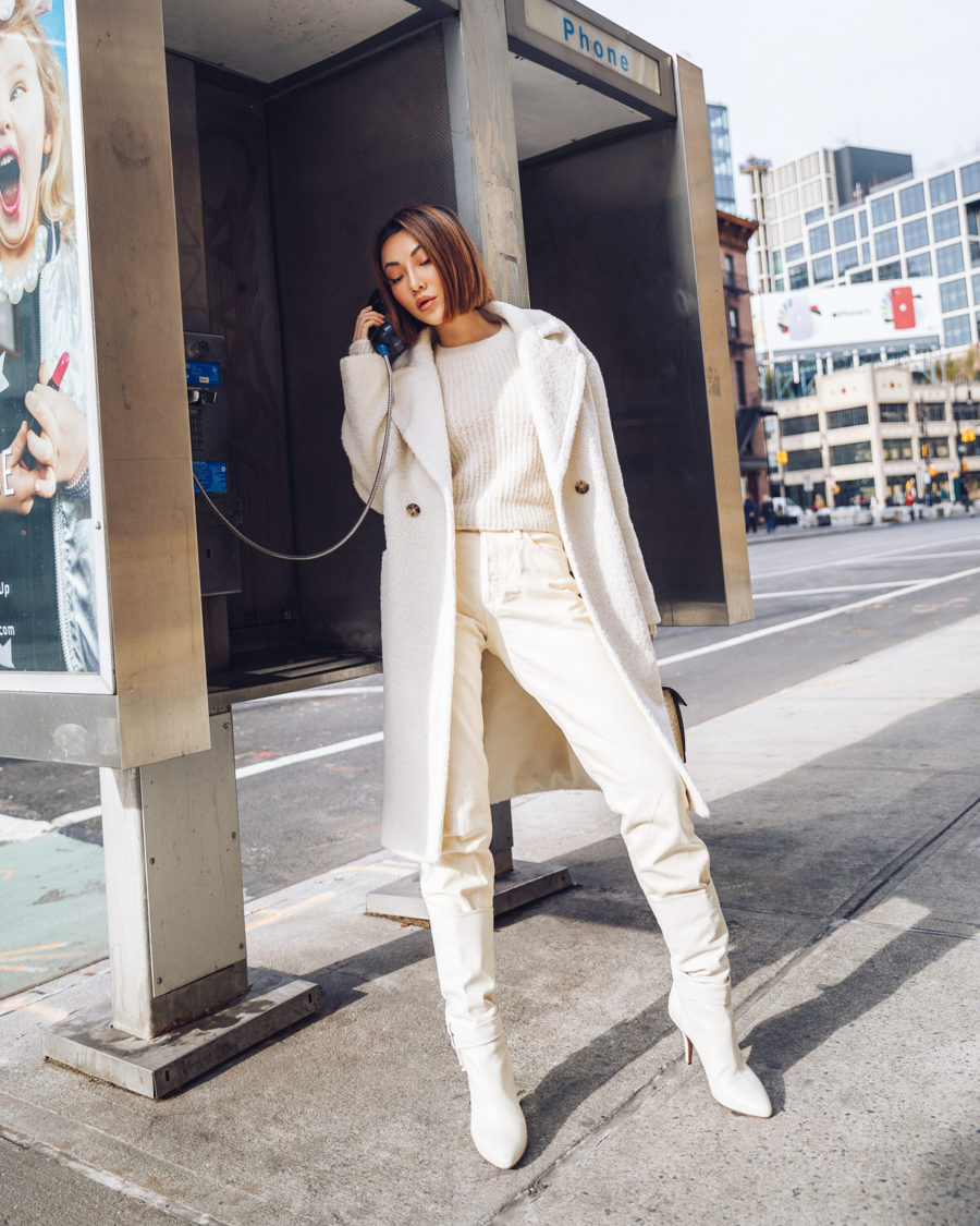 fashion blogger jessica wang wears all white outfit // Notjessfashion.com